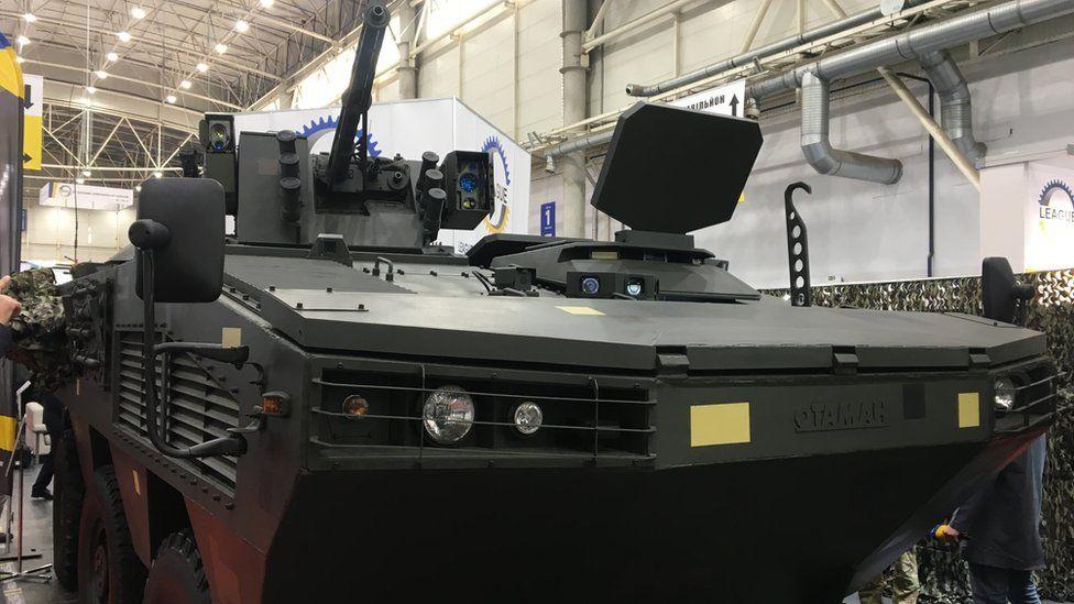 """ЗСУ озброять новітньою бойовою машиною """"Отаман"""": фото та характеристики"""