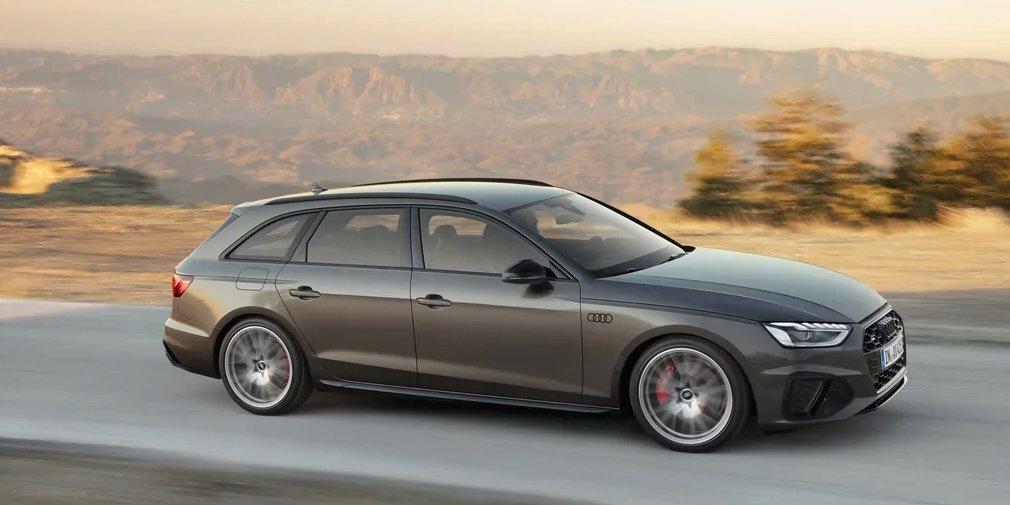 Audi представила оновлені седан і універсал A4