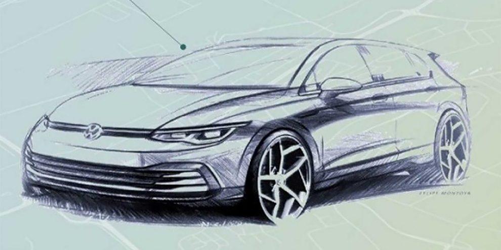 Volkswagen розкрив зовнішність нового Golf