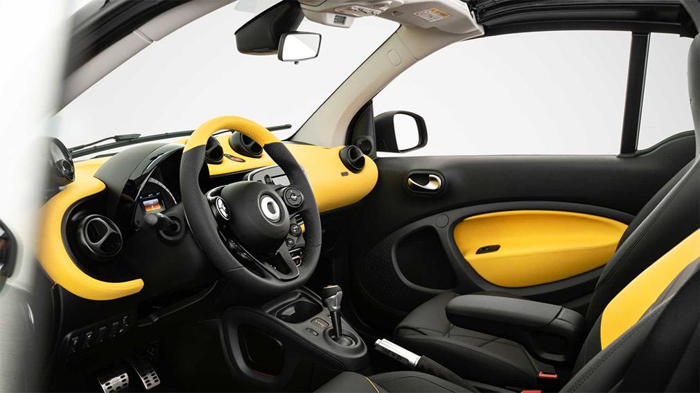 Smart попрощався з бензиновими двигунами спецверсією кабріолета ForTwo