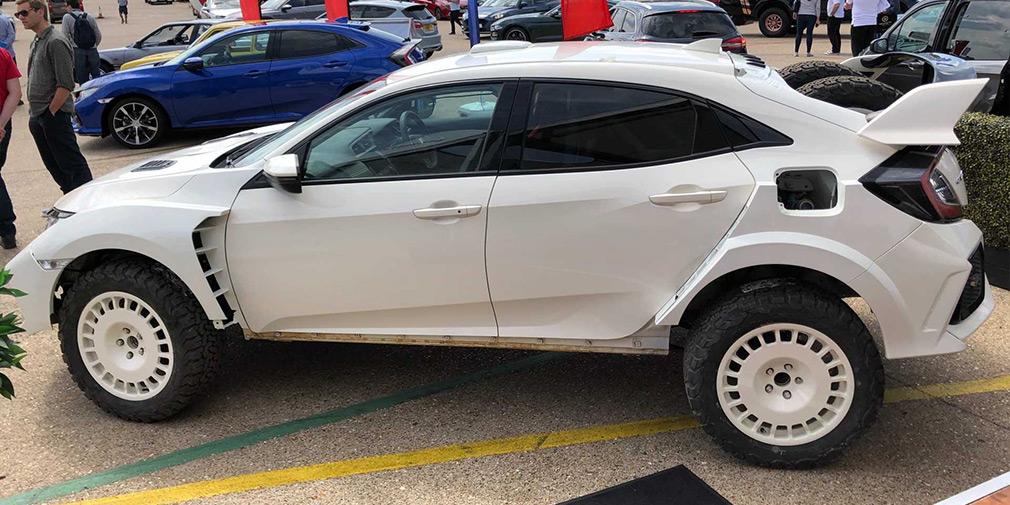 Тюнери перетворили хот-хетч Honda Civic Type R на вседорожник