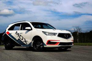Відео: Acura підготувала кросовер MDX до «Гонці в хмарах»