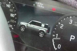 Зовнішність нового Land Rover Defender розсекретили на фото його «прилодової панелі»