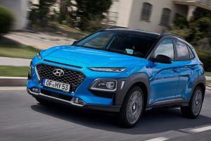 Кросовер Hyundai Kona став гібридом