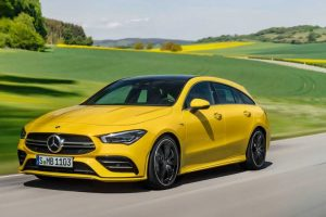 Mercedes представив AMG-версію нового CLA Shooting Brake