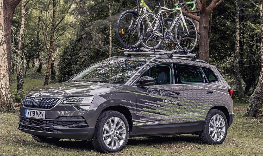 Skoda випустила кросовер для велосипедистів