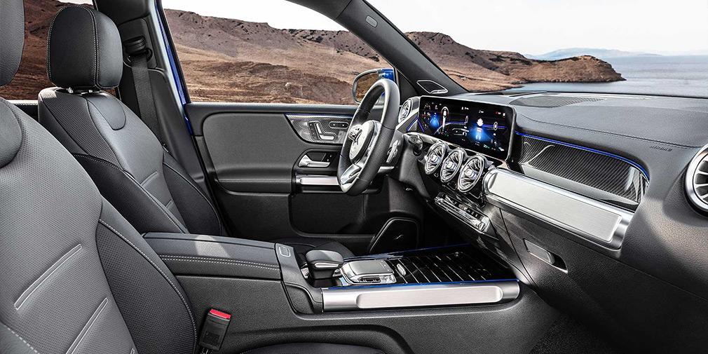 Mercedes представив семимісний кросовер GLB