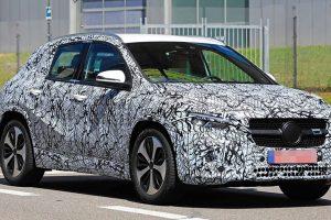 Mercedes-Benz почав випробування нового GLA