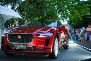 Jaguar представив перший електрокар I-PACE на фестивалі Leopolis Jazz Fest 2019