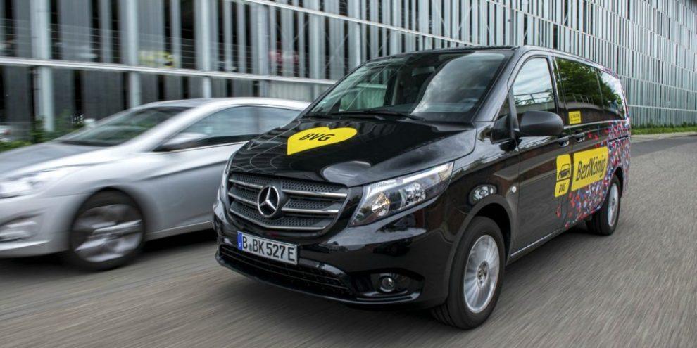 Mercedes випустив новий електричний мінівен
