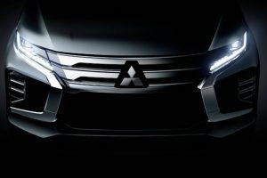 Mitsubishi показала зовнішність оновленого Pajero Sport