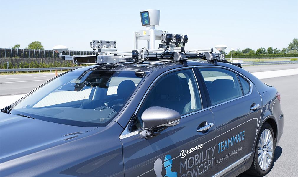 Lexus виведе безпілотники на громадські дороги в Бельгії