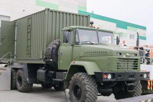КрАЗ презентував унікальний військовий автомобіль-поїзд (відео)