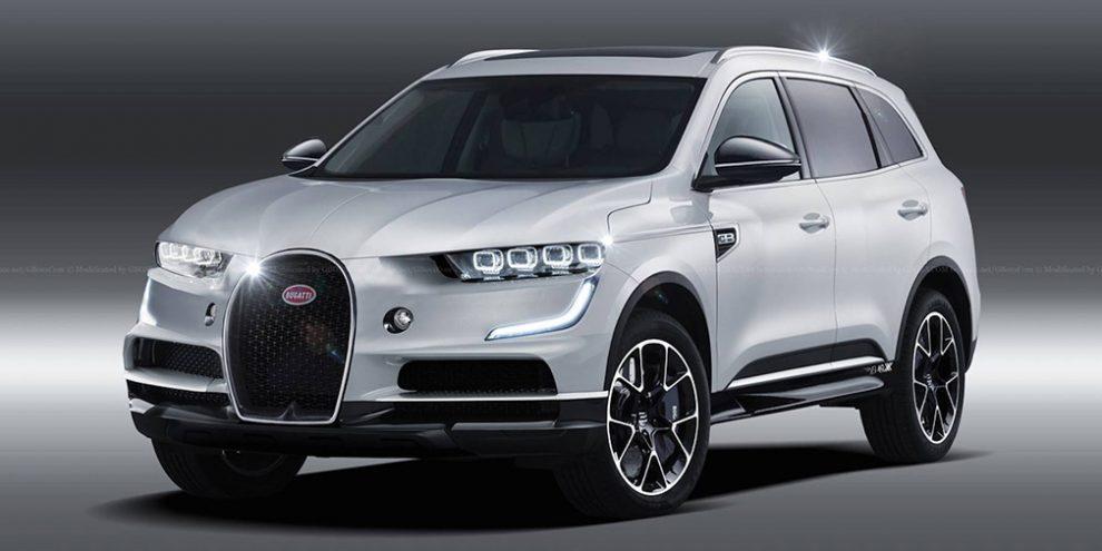 Bugatti випустить електричний кросовер