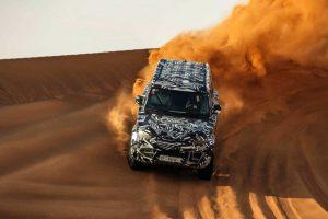 Новий Land Rover Defender отримає пневмо підвіску