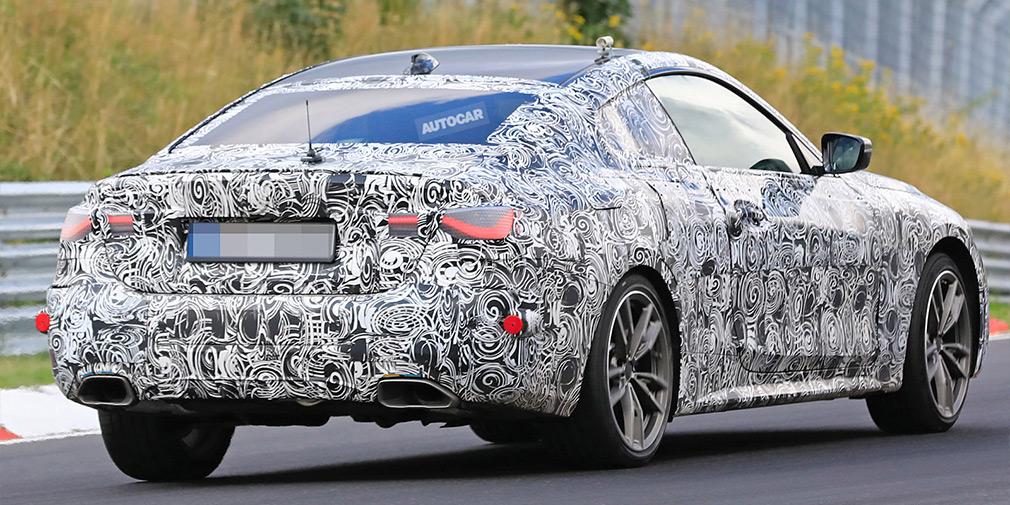 BMW почала тести нової «четвірки»
