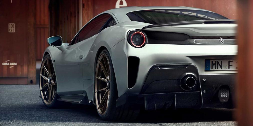 Тюнери випустили 800-потужну Ferrari 488 Pista