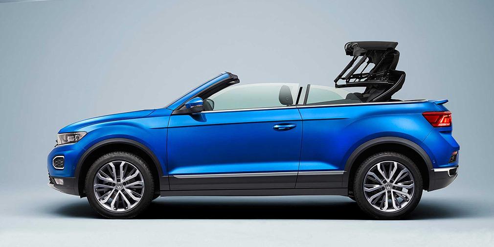 Volkswagen представив кабріолет на базі T-Roc