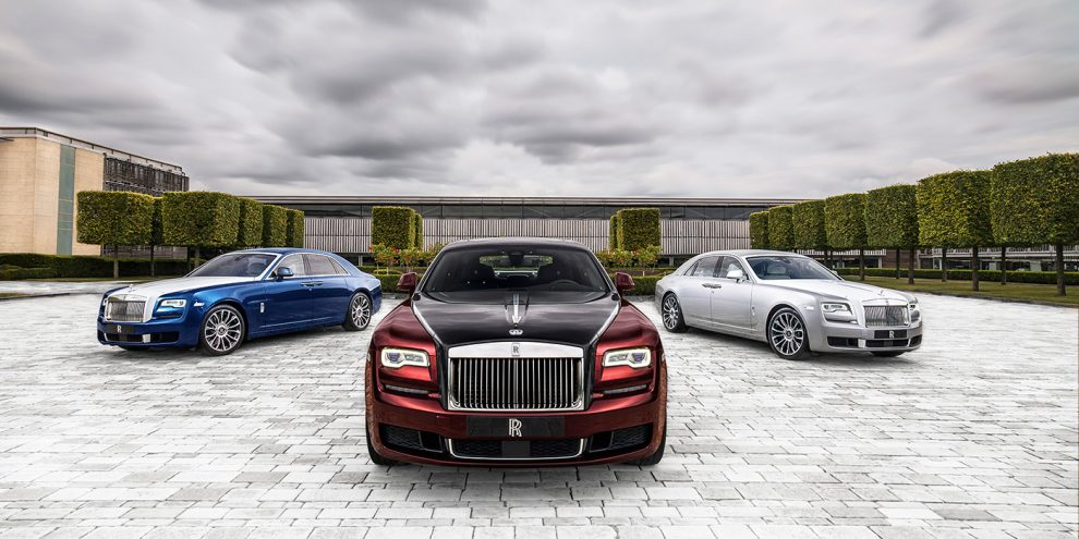 Rolls-Royce попрощався з Ghost колекційним випуском моделі