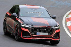 Спортивну версію кросовера Audi Q8 сфотографували без камуфляжу