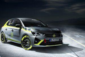 Opel представив перший в світі електричний ралі-кар