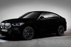 BMW покрила новий X6 самою чорною в світі речовиною