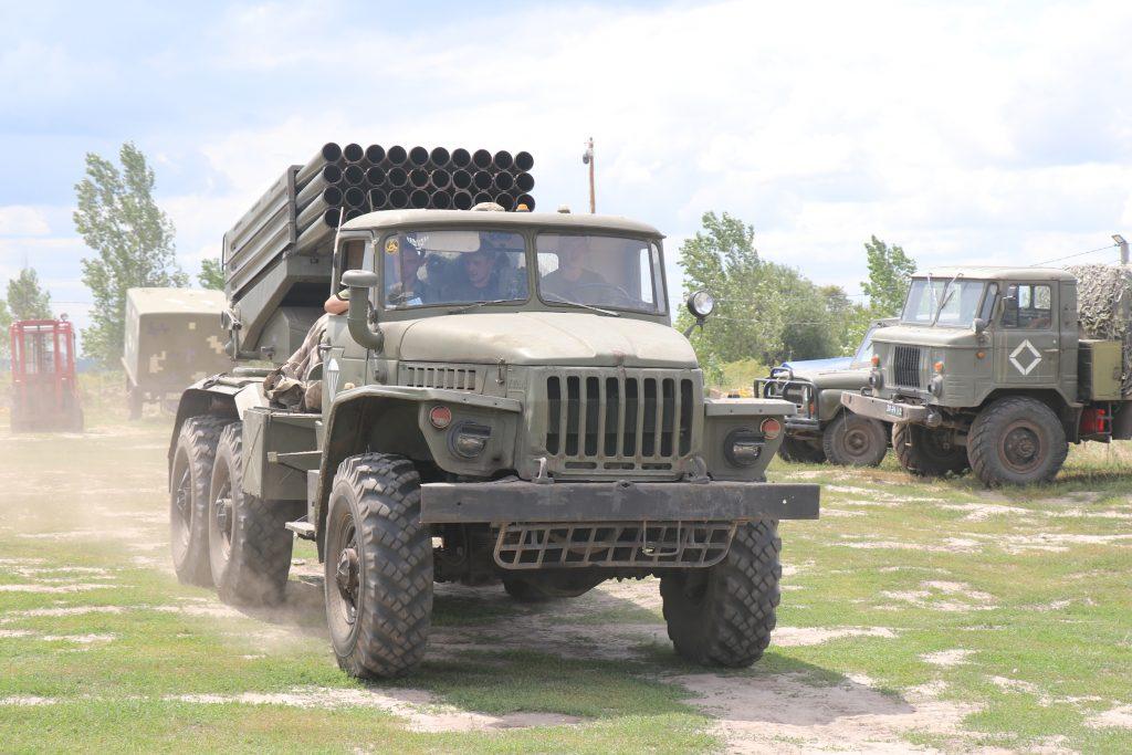 Потужні кадри випробування БМ-21 «Град» потрапили в Мережу (Відео)
