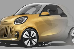 Smart показав дизайн майбутніх електрокарів