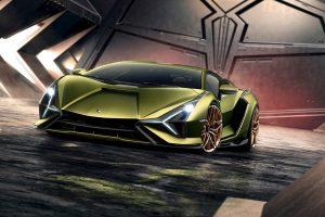 З'явилося зображення першого супергібрида Lamborghini