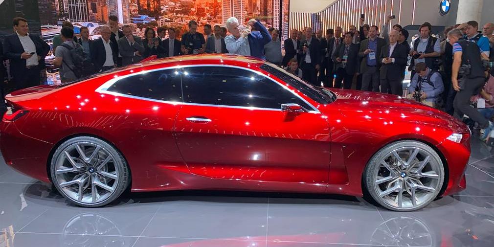 Нова BMW 4-Series отримала величезні ніздрі і 21-дюймові диски