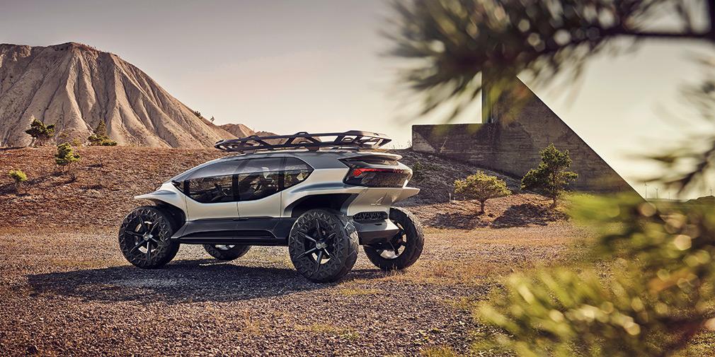 Audi розробила електрокар для далеких подорожей по бездоріжжю