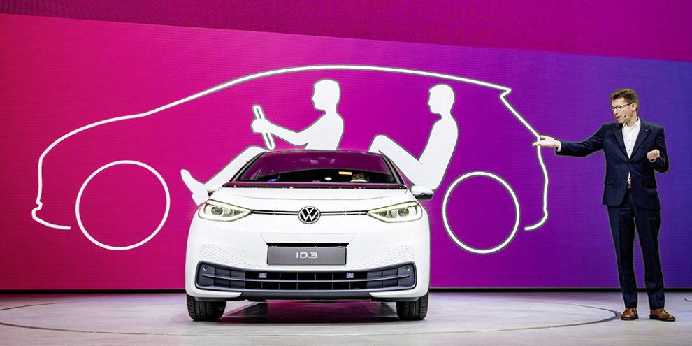Новий електрокар Volkswagen ID.3 отримає спортивну версію