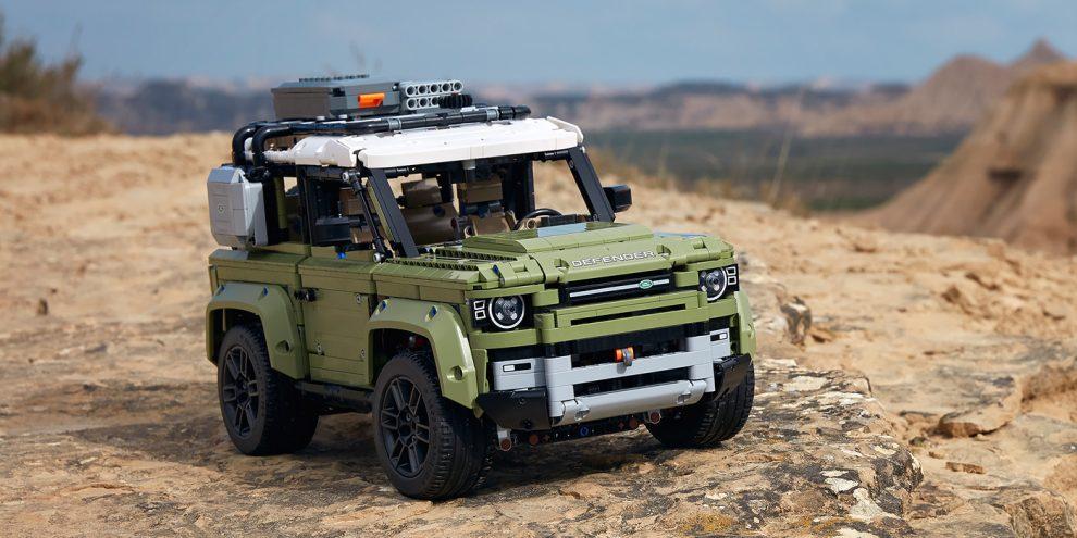 Lego випустив докладну копію нового Land Rover Defender