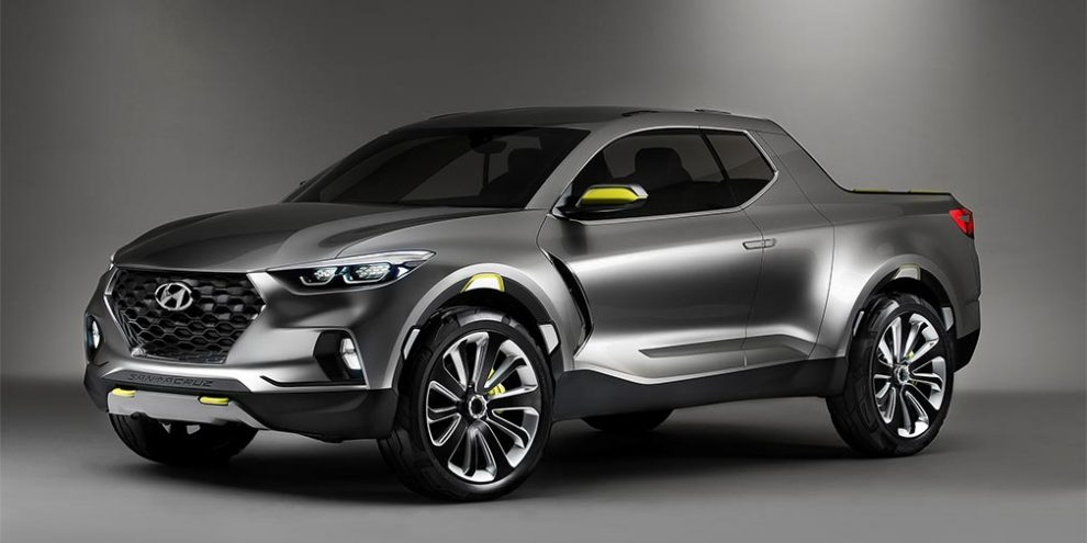 У Hyundai задумали «зарядити» ще не випущений пікап