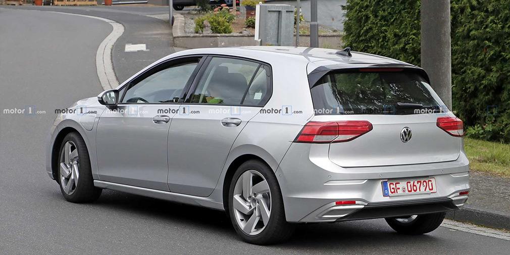 Новий Volkswagen Golf GTE розсекретили до прем'єри
