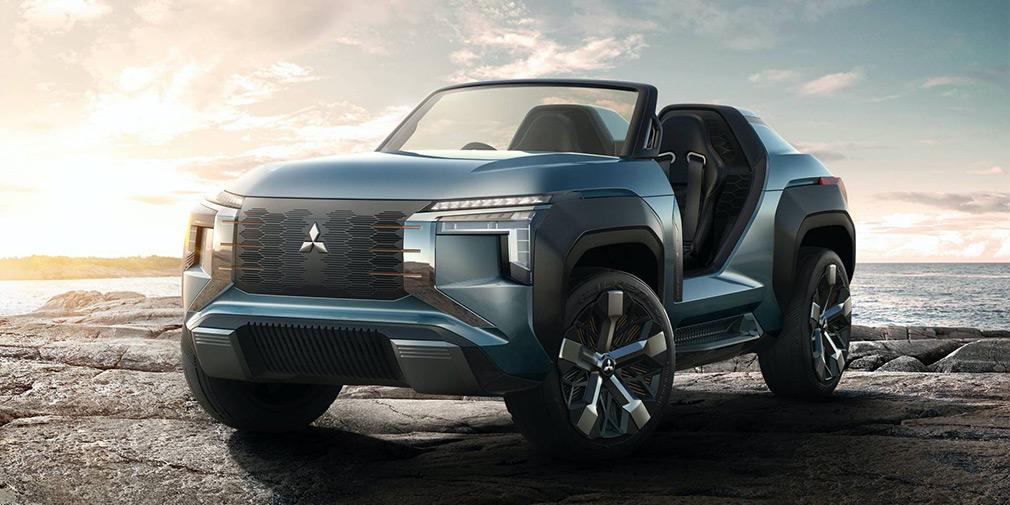 Mitsubishi створив баггі з газовою турбіною і доповненою реальністю