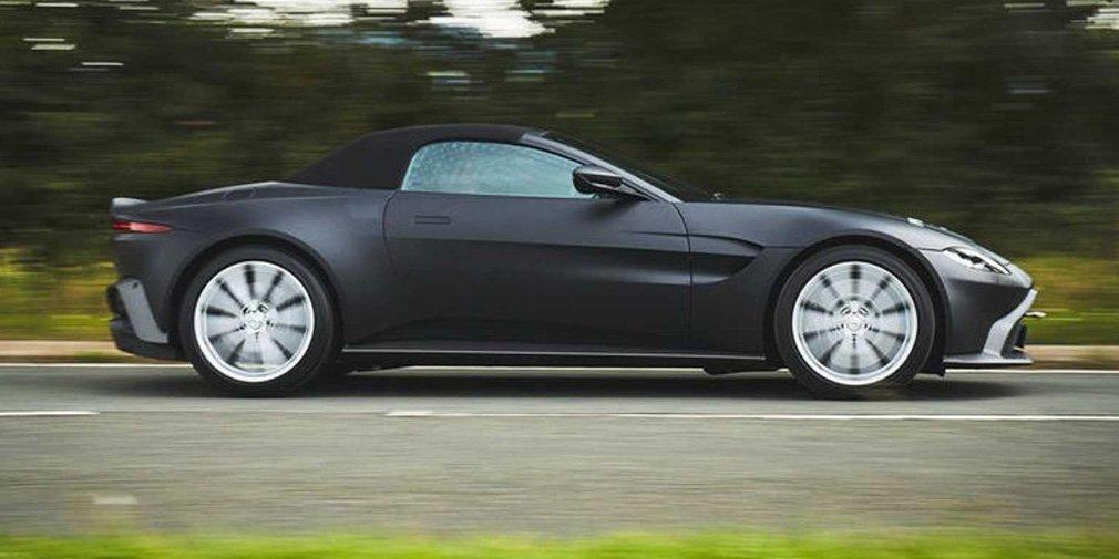 Спорткар Aston Martin Vantage позбувся даху