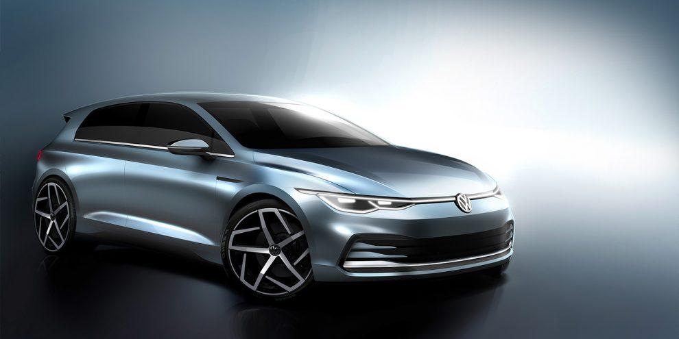 Дизайн нового Volkswagen Golf розсекретили до прем'єри