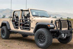 Творці «Хаммера» перетворили Jeep Gladiator в армійський всюдихід