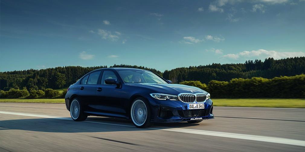Alpina превратила новую «трешку» BMW в 462-сильный суперседан