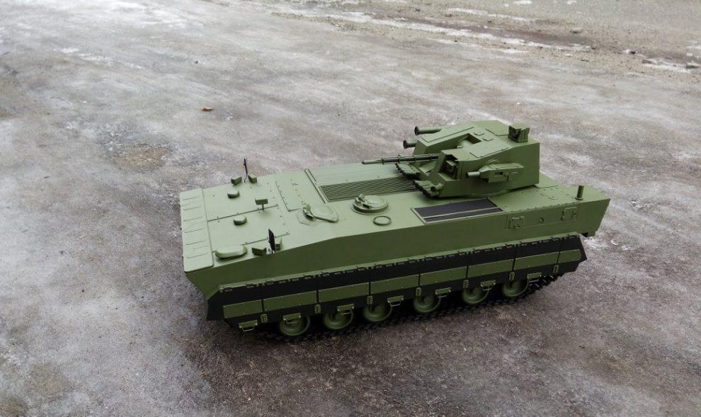 КВП «Українська бронетехніка» презентувала нову вітчизняну БМП (фото)