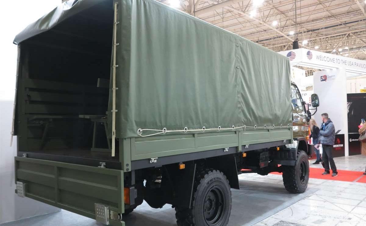 Нова українська вантажівка 4х4 на виставці «Зброя та безпека 2019» (відео)