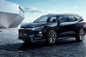 Chevrolet анонсував семимісну версію нового Blazer