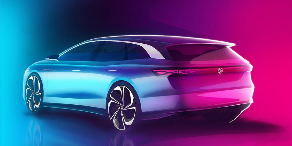 Volkswagen покаже в Лос-Анджелесі універсал з салоном в дусі Tesla