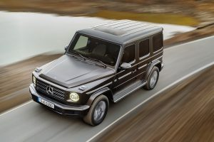 У Mercedes підтвердили розробку електричного Gelandewagen