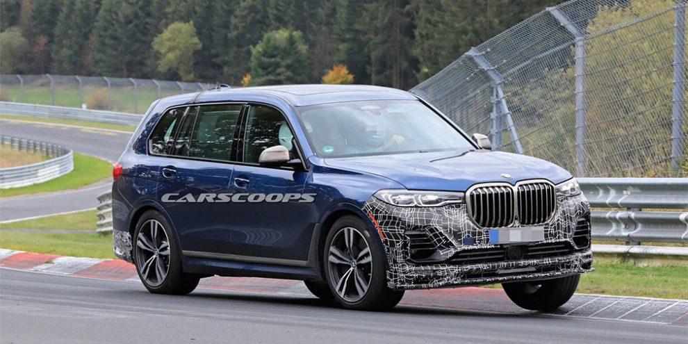 Alpina початку фінальні тести найпотужнішої версії BMW X7