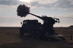 Українська САУ «Богдана» натівського зразка зробила перші постріли: Артилеристи почали випробування