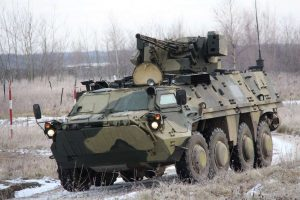Український БТР-4Е здивував прозорою бронею