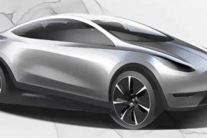 Tesla показала дизайн нового електрокара