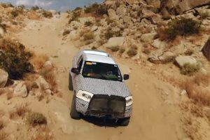 Ford показав відроджений позашляховик Bronco на відео